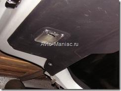 готовый плафон подсветки багажника