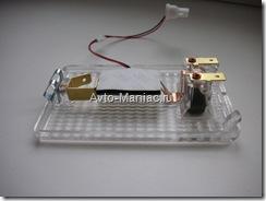 светодиодная матрица в плафоне