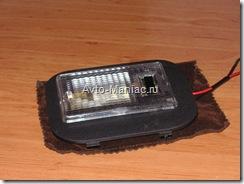 собранный светодиодный плафон