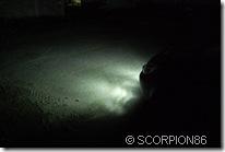 DRL-160P5 ночью