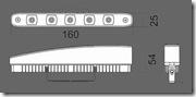 размеры DRL-160P5
