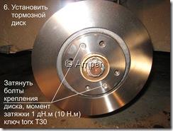Тормозной диск Peugeot 308