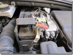 Клемма АКБ Peugeot 308