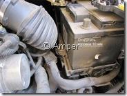 Демонтаж АКБ Peugeot 308