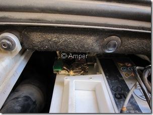 Минусовая клемма АКБ Peugeot 308